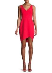 BCBG Max Azria Eve High-Low Sheath Dress