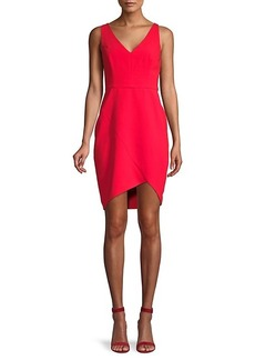 BCBG Max Azria Eve High-Low Sheath Dress