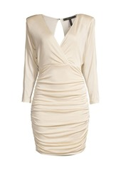 BCBG Max Azria Eve Ruched Cocktail Dress