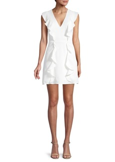 BCBG Max Azria Eve Ruffle Mini Dress