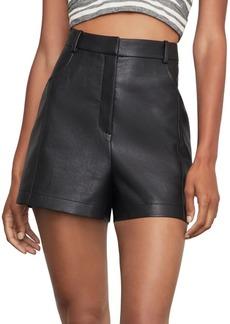 BCBG Max Azria Faux Leather Shorts