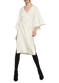 BCBG Max Azria Faux-Wrap Robe Dress