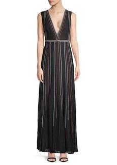 BCBG Max Azria Floor-Length Gown