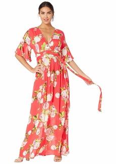 BCBG Max Azria Floral Maxi Dress