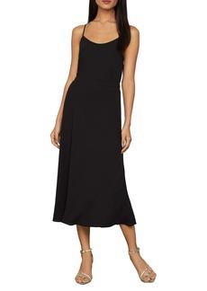 BCBG Max Azria Front Slit Midi Skirt