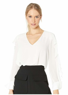 BCBG Max Azria Gael Long Sleeve Top