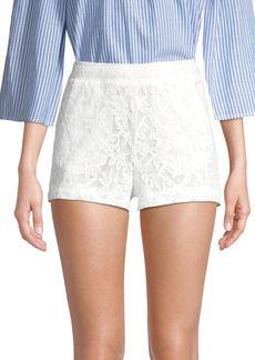 BCBG Max Azria Garden Floral Lace Shorts