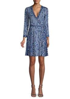 BCBG Max Azria Geometric A-Line Dress