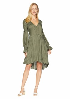 BCBG Max Azria High-Low Jacquard Dress