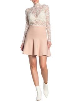 BCBG Max Azria Ingrid Ruffle Mini Skirt