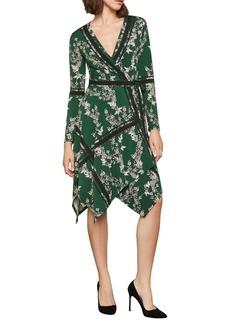 BCBG Max Azria Isabella Asymmetrical Wrap Dress