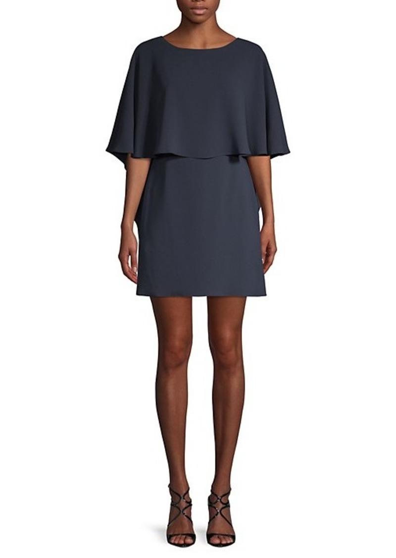 BCBG Max Azria Jamey Short Cape-Sleeve Dress