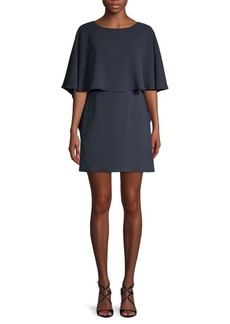 BCBG Max Azria Jamey Short Cape-Sleeve Dress