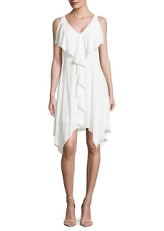 BCBG Max Azria Jessica Woven Cocktail Dress