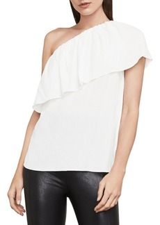 BCBG Max Azria Kamila One-Shoulder Top