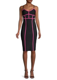 BCBG Max Azria Knit Bodycon Dress
