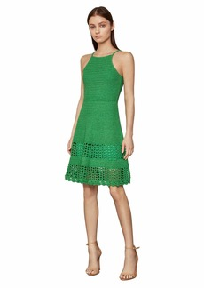 BCBG Max Azria Knit Fit-and-Flare Dress