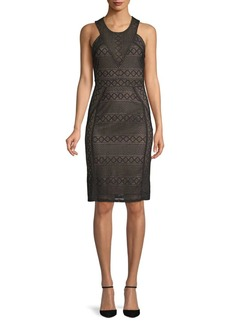 BCBG Max Azria Lace Cocktail Dress