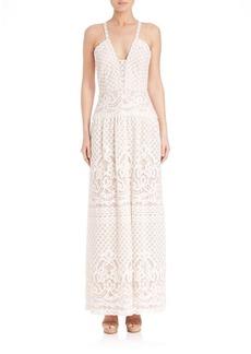 BCBG Max Azria Lace Gown