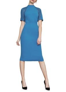 BCBG Max Azria Lace-Inset Sheath Dress
