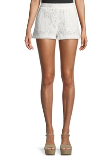 BCBG Max Azria Lace Pull-On Shorts