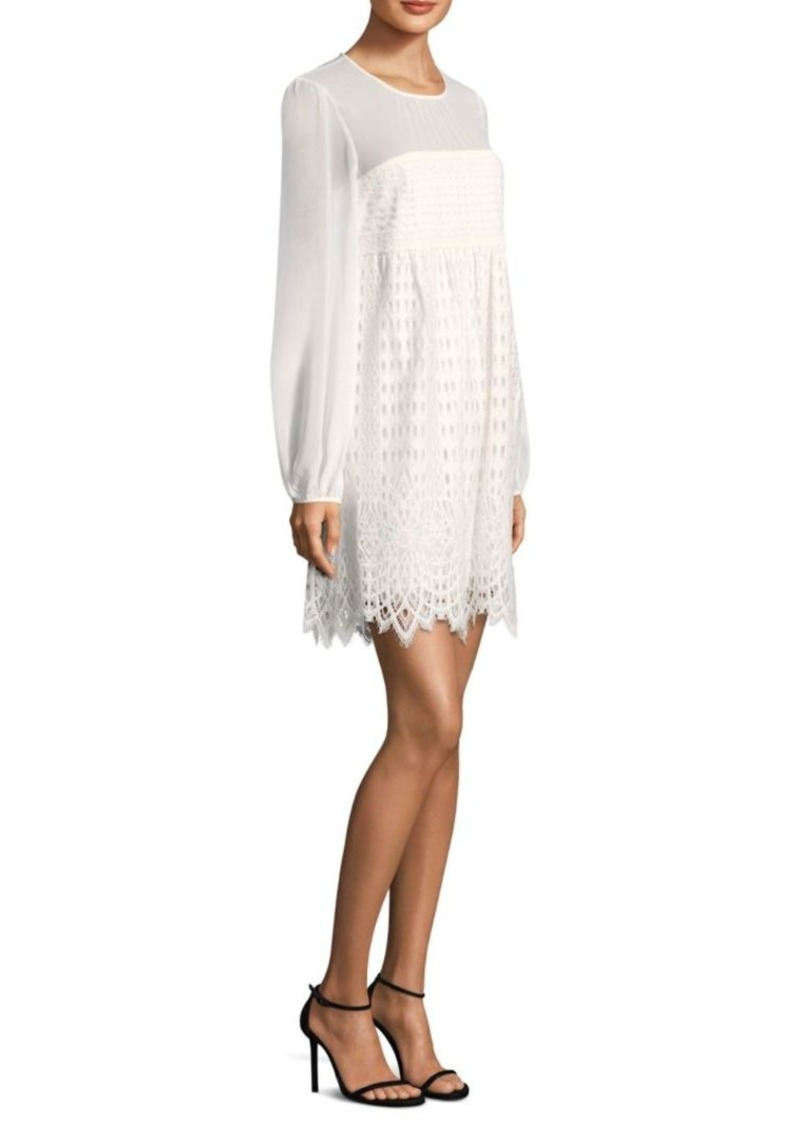 BCBG Max Azria Lace Shift Dress