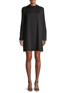 BCBG Max Azria Lace-Trimmed Dress