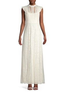 BCBG Max Azria Lace Tulle Gown
