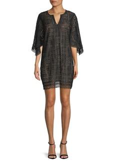 BCBG Max Azria Lace Tunic Dress
