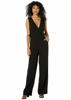 BCBG Max Azria Lace-Up Side Jumpsuit