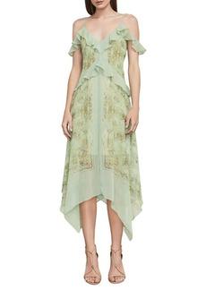 BCBG Max Azria Linette Asymmetrical Slip Dress
