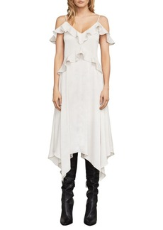 BCBG Max Azria Lissa Asymmetrical Slip Dress