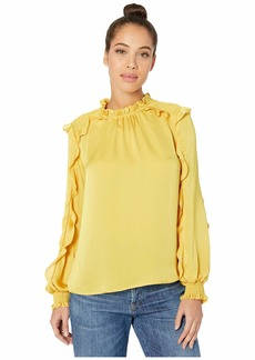 BCBG Max Azria Long Sleeve Blouse