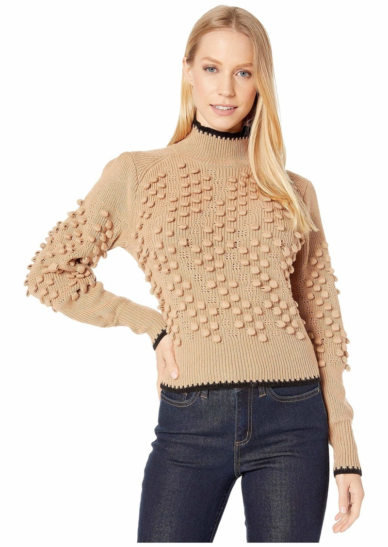 BCBG Max Azria Long Sleeve Turtleneck Sweater