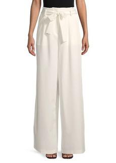 BCBG Max Azria Long Wide-Leg Paperbag Pants