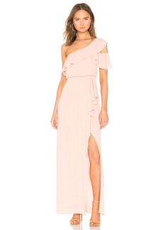 Maud One Shoulder Gown