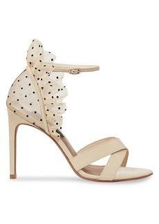 BCBG Max Azria Max Azria Stella Leather Stiletto Sandals