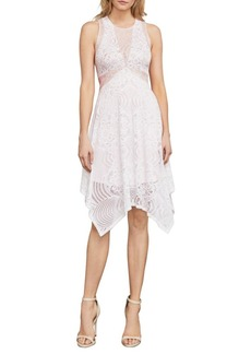 Meilani Asymmetrical Floral Lace Dress
