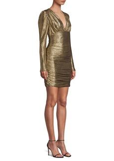 BCBG Max Azria Metallic Knit Dress