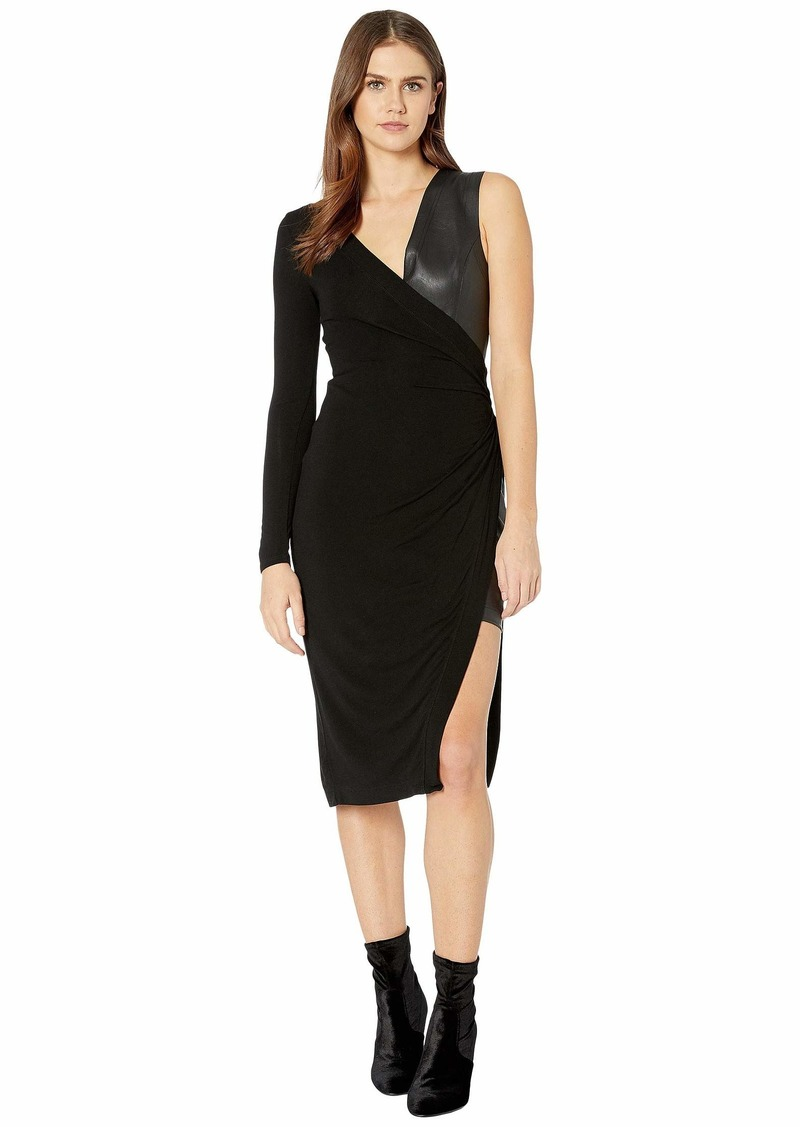 BCBG Max Azria Mixed Media Dress