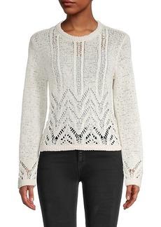 BCBG Max Azria Mixed-Stitch Sweater