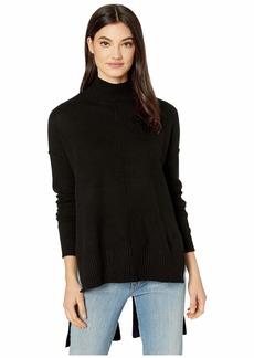 BCBG Max Azria Mock Long Sleeve Pullover Sweater