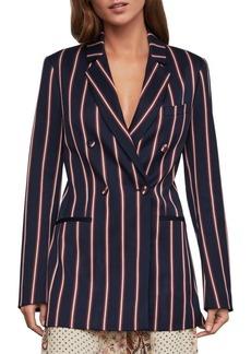 BCBG Max Azria Nautical Striped Blazer