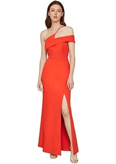 BCBG Max Azria One Shoulder Gown