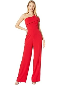 BCBG Max Azria One Shoulder Jumpsuit