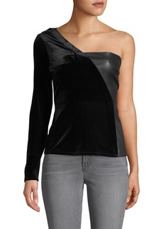 BCBG Max Azria One-Shoulder Top