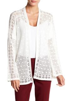 BCBG Max Azria Open Weave Wrap Sweater