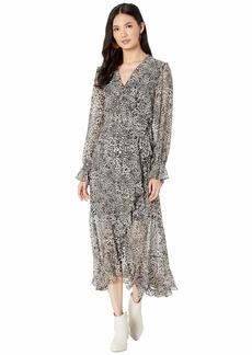 BCBG Max Azria Printed High-Low Dress