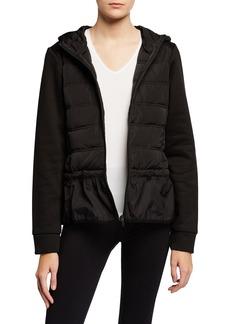 BCBG Max Azria Puffer Peplum Jacket