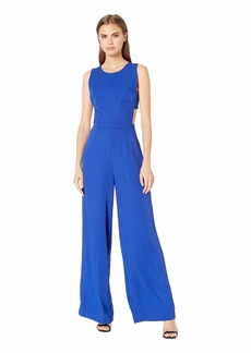 BCBG Max Azria Rossana Cut Out Back Jumpsuit